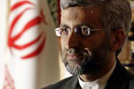 Jalili said Iran's nuclear ambitions cannot be stopped by international sanctions [AFP]