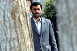 Ahmadinejad is the first Iranian leaderto attend a GCC meeting [EPA]