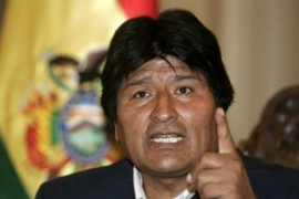 Opponents of Morales say he is trying to impose authoritarian rule on the South American nation [EPA]