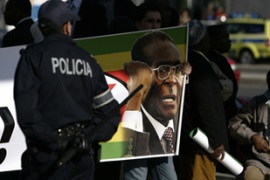 Zimbabwe and Darfur caused tensions between African and European delegates [AFP]