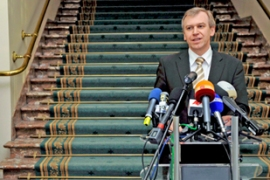 Yves Leterme, the would-be prime minister, abandoned coalition talks earlier this month [EPA]