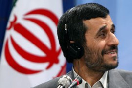 Ahmadinejad disputed than Iran had a nuclear weapons programme even before 2003 [AFP]