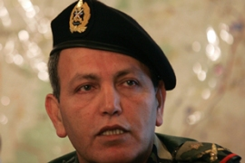 A car bomb killed Brigadier General Francois al-Hajj on Wednesday [AFP]
