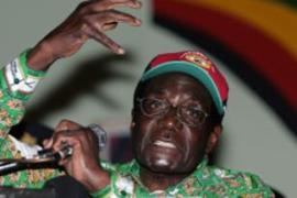 Analysts say that, with the opposition divided, Mugabe could claim victory in the elections [AFP]