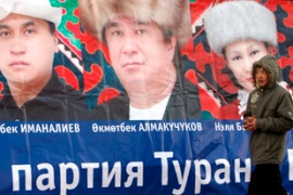Voters are unsure the elections will end the political divisions in Kyrgyzstan [EPA]