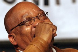Zuma was sacked as deputy head of state after his financial adviser was jailed for fraud in 2005 [AFP]