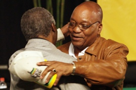 Zuma capitalised on growing frustrations with Mbeki, who was seen as increasingly aloof [AFP]