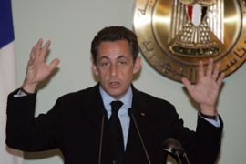 Sarkozy is frustrated over Lebanon's inability to elect a consensus president [AFP]