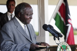 Kibaki invited his rival along with religious leaders to negotiations on Friday [AFP]