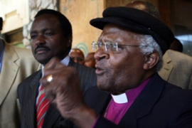 Desmond Tutu said both sides are open to negotiations [AFP]
