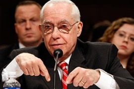 Mukasey said the CIA was not using waterboarding anymore so no ruling was needed [GALLO/GETTY]