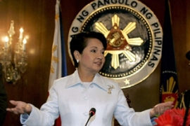 Arroyo said the government is not abandoning years of talks to end the bloody conflict [AFP]