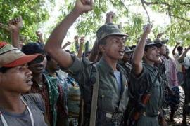 Maoist fighters of eastern and central Indiaregularly launch raids on security targets [AP]