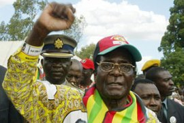 Robert Mugabe in standing for re-election on March 29 [AFP]
