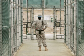 Turkistani said he and fellow detainees are being held in Guantanamo's maximum security Camp 6 [EPA]