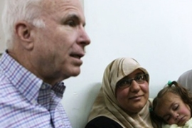 McCain visited Iraq in Marchthis year [AFP]