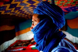 The Tuareg people inhabit a large area covering almost all the middle and western Sarhara [AP]