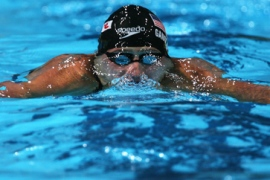 Lochte smashes fourth world record