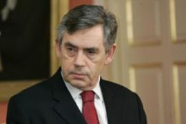 Gordon Brown said Britain's prospects would depend on the co-operation of other countries [AFP]