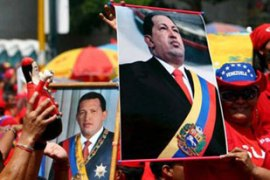Demonstrators in Venezuela supported Chavez's decision to expel the Israeli ambassador [File: EPA]