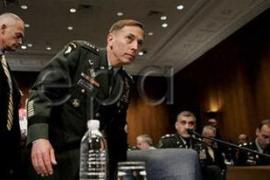 General Petraeus did not specify in his testimony on Thursday how many troops would be withdrawn [EPA]