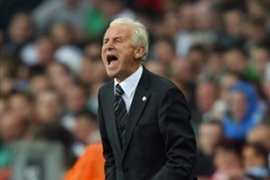 Trapattoni said he was enthused by his side's performance against a technically superior side [AFP]