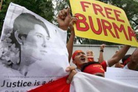 Myanmar extended Aung San Suu Kyi's house arrest for another year in May [EPA]