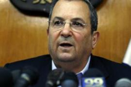Barak said on Wednesday that Olmert should step aside for the good of Israel [AFP]