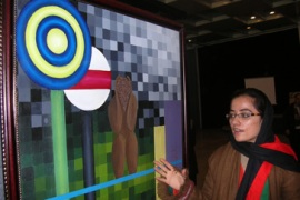 Afghan women turn to art