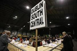 Ballots were counted at the Royal Dublin Society (RDS) in Dublin [AFP]