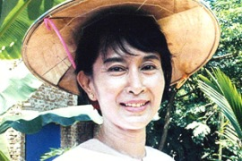 Aung San Suu Kyi has been in jail or under house arrest for almost 13 of the last 18 years [EPA]