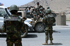 The Taliban fighters choose not to fight, an Isaf spokesman said [AFP]