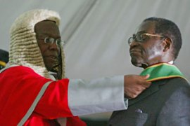 Mugabe embarks on sixth term of office after winning a poll where he was the only candidate [Reuters]