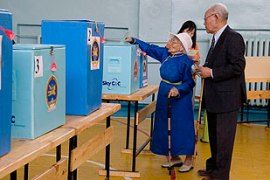 More than 1,800 polling stations opened for Sunday's parliament elections [EPA]
