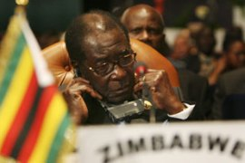 Mugabe's re-election has been criticised by governments around the world [AFP]