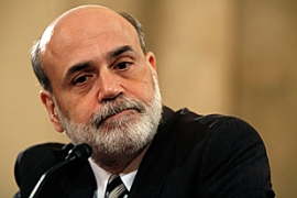 Bernanke said economic growth would be slow for the rest of the year [AFP]