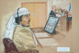 Hamdan is one many Guantanamo detaineesto face military tribunals [AFP]