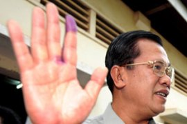 Hun Sen has ruled Cambodia for 23 years [AFP]