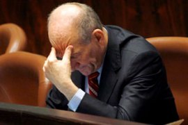 Olmert's premiership has been dogged by corruption allegations [EPA]