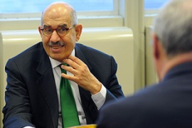 ElBaradei, the IAEA chief, said the deal met the agency's legal requirements [AFP]