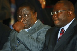 The MDC have been holding power-sharing talks with Mugabe's Zanu-PF [File: AFP]