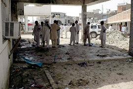 The motive behind the blast in Dera Ismail Khan appeared to be sectarian [AFP]