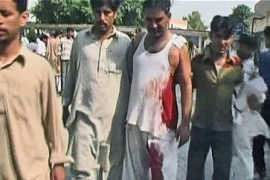 Video: Pakistan arms depot attack