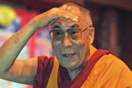Doctors have judged the Dalai Lama to be well enough to join in the fast [AFP]