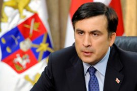 Saakashvili repeats his offer of full autonomy for South Ossetia [Reuters]