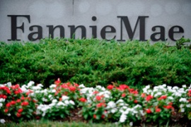 The US government seized control of Fannie Mae and Freddie Mac on Sunday [EPA]