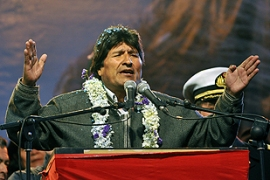 Morales called the vote in an effort to strengthen his position [AFP]