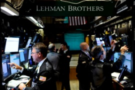 Lehman, once the fourth-largest US investment bank, became America's largest bankruptcy [EPA]