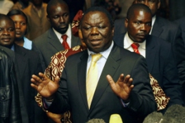 Questions remain on how much power Tsvangirai will have [AFP]