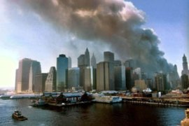The address to Americans comes just days after the anniversary of the September 11 attacks [EPA]